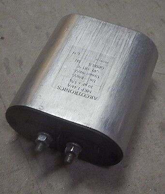 Arcotronics Capacitor Mkp 1.44a 20uf -5 Un850v Used