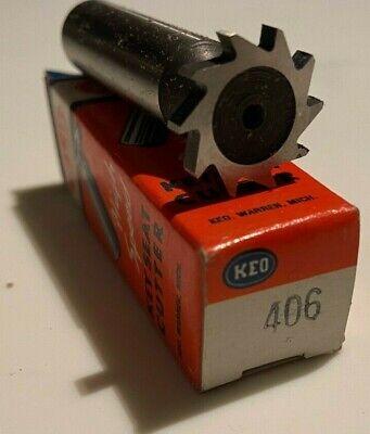 406 Keo Keyseat Cutter New Woodruff Key Slot