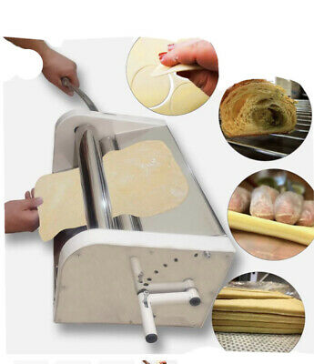 Manual Dough Sheeter 19.7 Inches Dough Fondant Pizza Roller