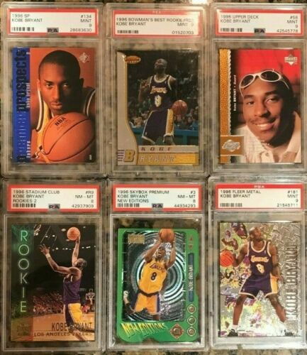 KOBE BRYANT 1996 PSA ROOKIE RC 5 CARD PACK / LOT > *BUYBACK PACK PLEASE READ*