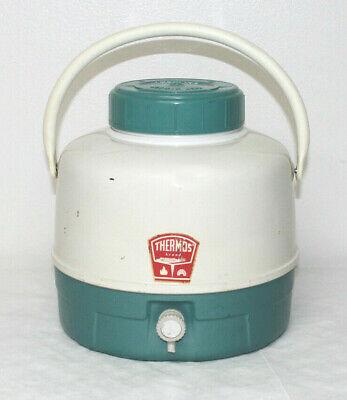 Vintage Thermos Brand Picnic Jug 1 Gallon Twist Spout Teal