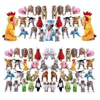 Children Kids Halloween Cartoon Animal Costume Costumes Jumpsuit for Boy Girl](Halloween For Children)