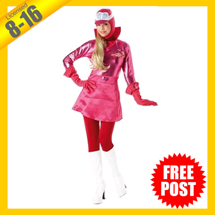 Details about RUBIES Ladies Costume Fancy Dress Licensed Penelope Pitstop  Wacky Race 889749