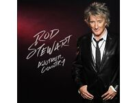 2 x Tickets: ROD STEWART HITS 2016 - 'from Gasoline Alley to Another Country'