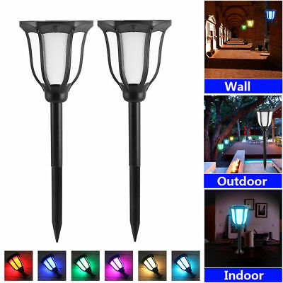 Waterproof Colorful Solar Landscape lights Dusk To Dawn Garden Halloween decor  - Halloween Solar Lights