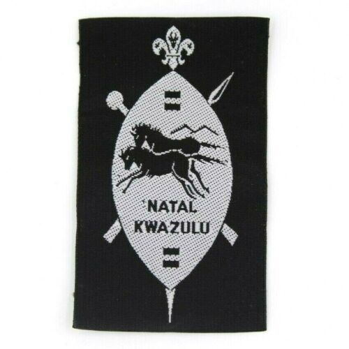 South African Scouts Natal Kwazulu Patch World Scouting