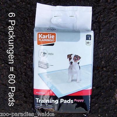 60 Trainingsmatten puppy pads Welpentoilette, Welpenunterlage, Hunde WC  1031319