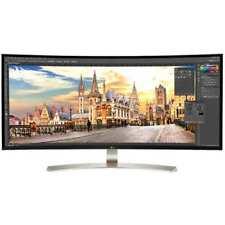 """LG 38"""" Class 21:9 UltraWide WQHD+IPS Curved LED Monitor(37.5"""" Diagonal)-38UC99W"""