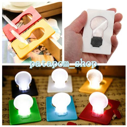 1PCS Portable Wallet Purse Pocket Credit Card Size LED Bulb