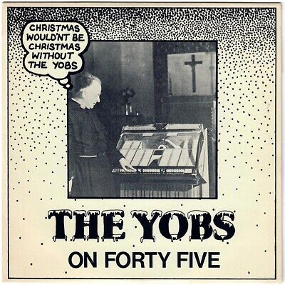 THE YOBS On forty five 1981 UK 45 PUNK rock The BOYS Power pop Christmas ()