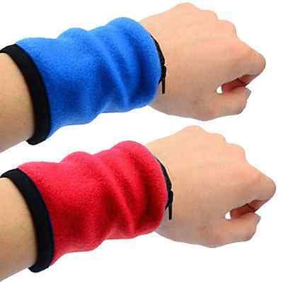 New Multifunctional Wrist Band Zipper Ankle Wrap Sport Wrist Strap Warm Wallet C