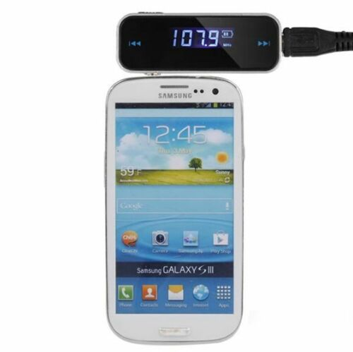 HIFI Wireless Music to Car Radio FM Transmitter For 3.5mm MP