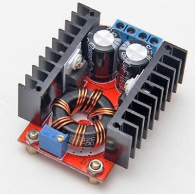 150w Dc-dc Boost Converter 10-32v To 12-35v 6a Step Up Voltage Charger Power At