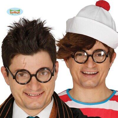 Kostüm Erwachsene Runde Brille & Objektive Harry Wally Lloyd Neu - Kostüm Objektive
