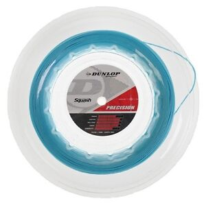 DUNLOP Precision 100m Blue Squash String Reel - 18 / 1.18mm
