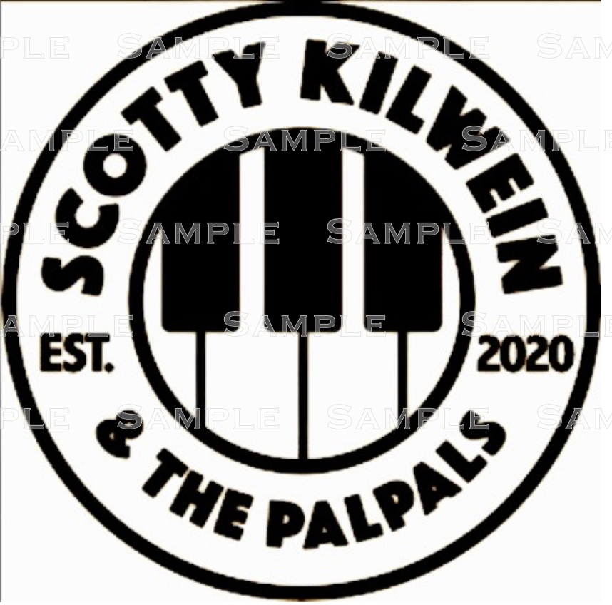 Home Decoration - SCOTTY KILWEIN & THE PALPALS official logo, t-shirt iron-on, perm vinyl decal