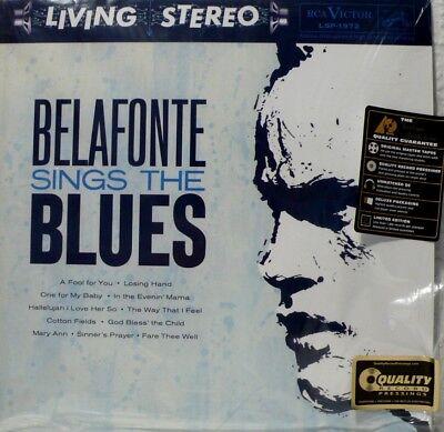 HARRY BELAFONTE SINGS THE BLUES  IMPEX IMP6012-45 2LP 2012