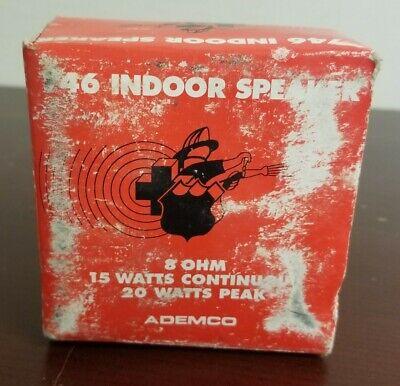 Ademco 746 Indoor Speaker Red Flush Mount Fire Alarm