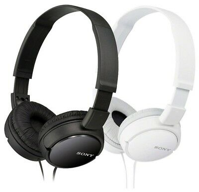 Sony MDR-ZX110 Stereo Over-Head Headphone Extra Bass Black &