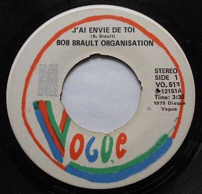 BOB BRAULT ORGANISATION Bilboquet Ex CANADA 1975 AFRO FUNK JAZZ BREAKS 45