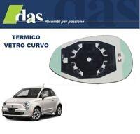 VETRO SPECCHIO RETROVISORE C//PIASTRA SX FIAT GRANDE PUNTO TERMICO