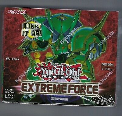 YUGIOH EXTREME FORCE 1ST ED BOOSTER BOX ENGLISH
