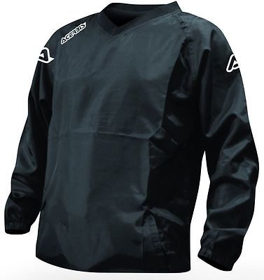 ACERBIS ATLANTIS WATERPROOF OVER RAIN JACKET BLACK MOTOCROSS ENDURO GOLF CHEAP