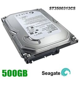 SEAGATE 500GB SATA INTERNAL DESKTOP PC 3.5inch HARD DRIVE