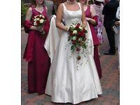 Wedding dress 10-12