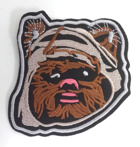 """Star Wars Ewok Head 3.5"""" Embroidered Patch (SWPA-FC-45)"""