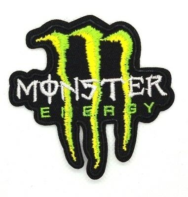 Monster Energy iron-on motorcycle embroidered patch 091