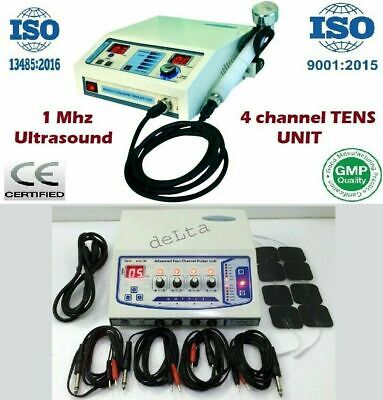 Electrotherapy Unit Ultrasound Therapy Effective Combo Physical Therapy Unita