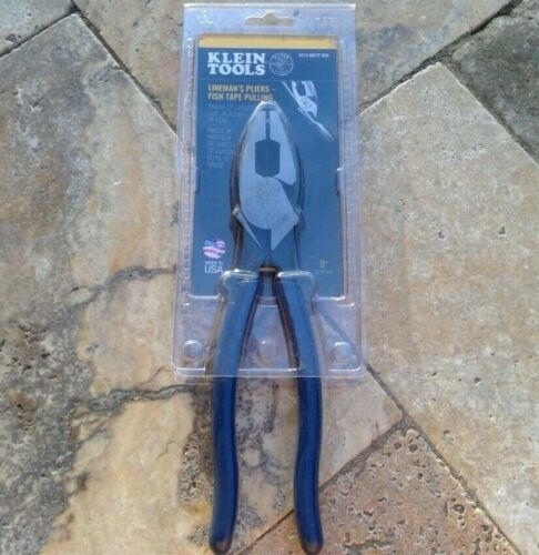 🌟🎈 Klein Tools D213-9NETP-SEN Fish Tape Pulling Side Cutters 9