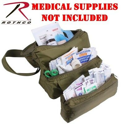 Green First Aid - OD Green EMS/EMT Medical Emergency Rescue Response Field First Aid Kit Bag 8166