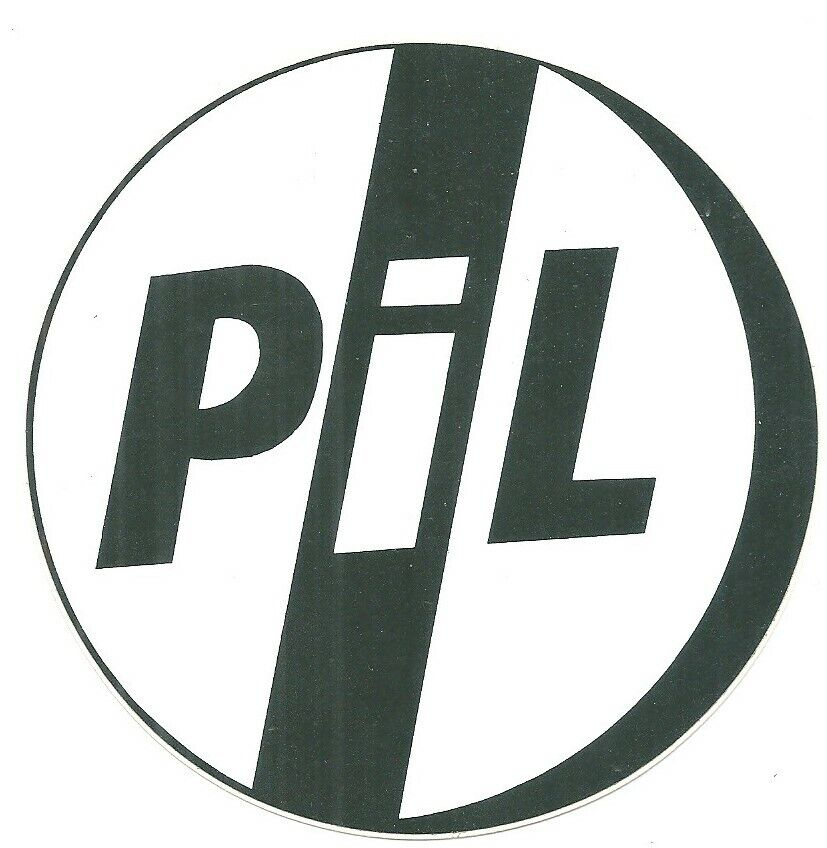 Public Image Limited - PIL  Image Original 1980's Sticker - Mint