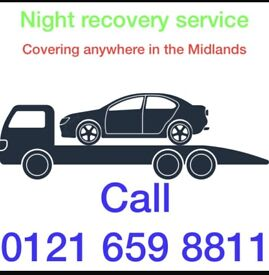 Night recovery call 07860 857866