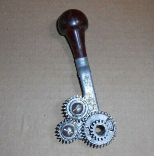 Vintage sears Dunlap Craftsman 109 Lathe: Reverse Tumbler Lever Knob and gears