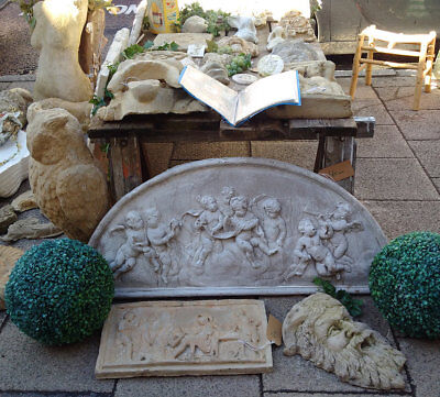 Catalogue for Sculpture and Plaques Garden Urn for sale