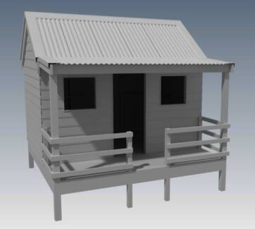 "CUBBY HOUSE - ""Great Aussie Outback Style"" - BUILDING PLANS"
