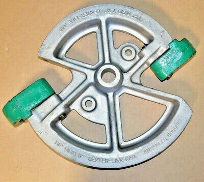 Greenlee 5018659 Rigid Conduit Pipe 1-14 1-12 1818 Mechanical Bender Shoe