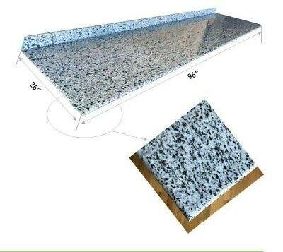 """Natural granite prefabricated and finished slabs (96""""x26"""" kitchen countertops)"""