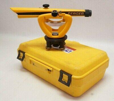 Berger Instruments Model 136 Transit Level W Case