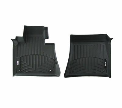 82 11 2 285 514 BMW ALL WEATHER FLOOR LINERS F15 X5X6 FRONT BLACK 2014 NEWER