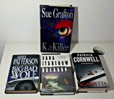4 Hardcover Book Bundle Thrillers - Crime, Law, Suspense, Murder, Psychological