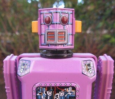 NON STOP ROBOT TIN WIND-UP TOY MASUDAYA JAPAN 1997 -WORKS & HAS ORIGINAL BOX