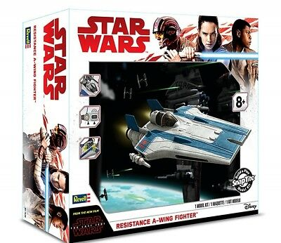 Revell Star Wars The Last Jedi Resistance A-wing Fighter model kit NEW W/SOUND