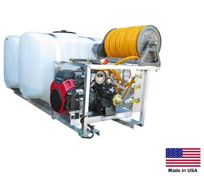 Sprayer Commercial - Skid Mounted - 35 Gpm - 700 Psi - 200200 Gallon Split Tank