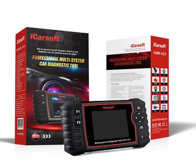 3 Gerät Einstellen (iCarsoft VAWS V2.0 Profi Diagnosegerät für VAG-Fahrzeuge OBD2 OBDll)