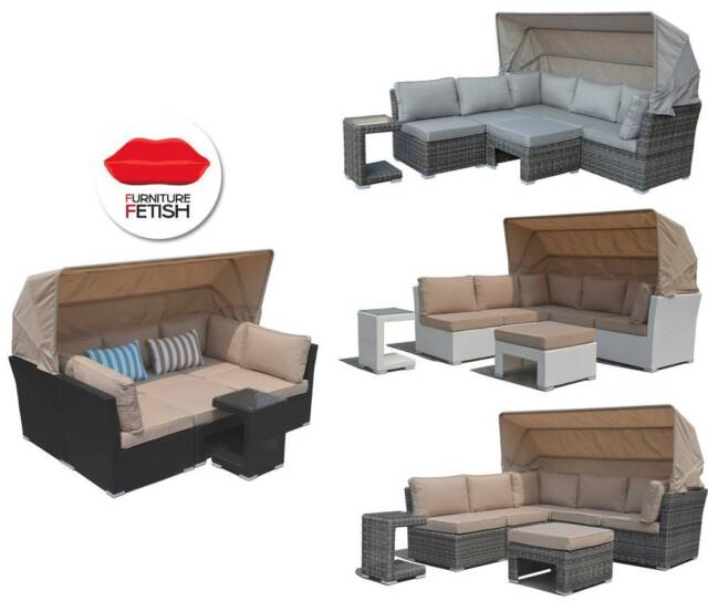 Outdoor Furniture Somerset Outdoor Lounge & Day Bed In One