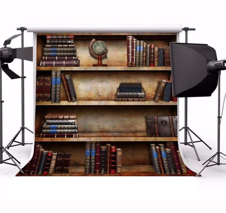 Boekenplank Met Boeken.Laeacco Vintage Houten Boekenplank Boeken Scene Fotografie 2dehands Be